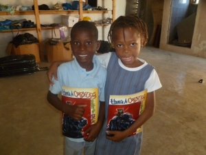 The smiles on the faces of these Haitian children really says it all!